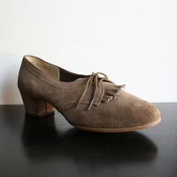 Vintage Shoes Camel Vintage Outdoorables by Daniel Green by zwzzy