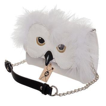 Harry Potter Hedwig Owl Crossbody Handbag Purse