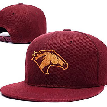 HUIXI Cal Poly Mustangs CP Division I Snapback Embroidery Hats Caps