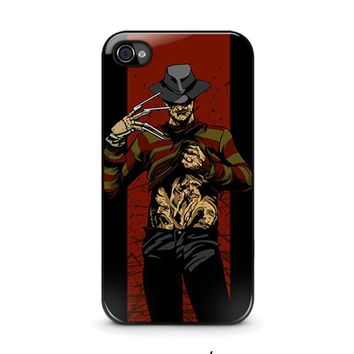 freddy krueger 1 iphone 4 4s case cover  number 1