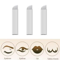 16Pin Blade 3D Embroidery Sterilized Stainless Steel Permanent Makeup Needles For Eyebrow Lip Embroidery Microblading Supplies