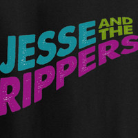 Full House Fuller House Jesse and the Ripper Logo Tee T-shirt 80's
