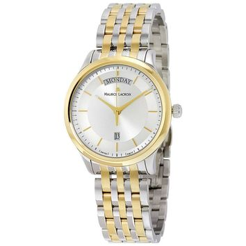 Maurice Lacroix Stainless Steel Mens Watch LC1227-PVY13-130