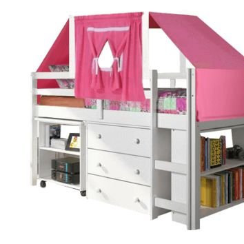 Ava Kid's Furniture Set with Pink Tent