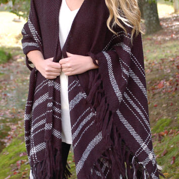 Walk The Line Fringe Cardigan