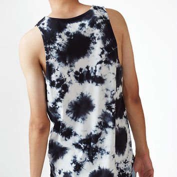 PacSun Rhyo Tie Dye Scallop Tank Top at PacSun.com