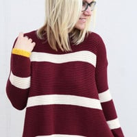 Rugby Girl Striped Sweater