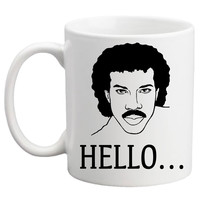 Hello is it Tea You're Looking for?  Lionel Richie Mug
