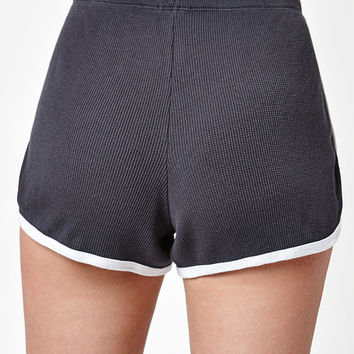 John Galt Lisette Thermal Shorts at PacSun.com