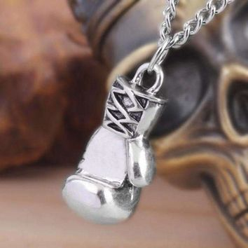 Men's/Women's Unisex Boxing Pendant Necklace