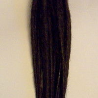 20 Dark Brown SE Synthetic Dreads Hair Extensions Dreadlock Kit or Fall