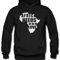 Africa Needs Our Love Hoodie