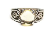 Cabochon Citrine Ring Sterling Size 7