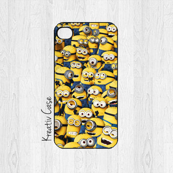 iPhone 5 case, iPhone 5S case - Despicable Me, Minions Phone Case - G070