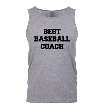 Best Baseball Coach  Men's Tank