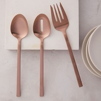 Rose Gold Hostess Serving Set
