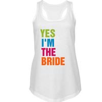Neon Bride Bachelorette Party Tank