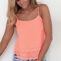 Daniela Cut-Out Tank Top
