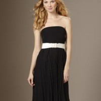Rehearsal Dinner for Women: Tiny Pleated Dress With Sash: The Limited