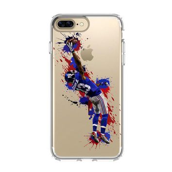 ODELL BECKHAM JR GIANTS 1 iPhone and Samsung Galaxy Clear Case