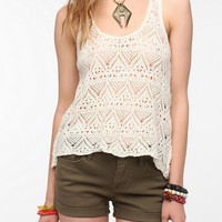 Urban Outfitters - Ecote Crochet Racerback Tank Top