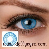 Light blue non presciption color contact lenses