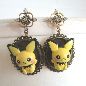 Pokémon earrings - Pichu Earrings - Geekery, Cosplay, Gijinka