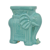 Ganesh Takes a Seat Stool in Blue