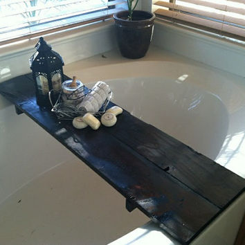 Bathtub Caddy / Bathtub Shelf / Home Decor