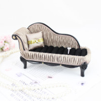 """Vintage Allure Lounge Chair Ring Holder 6.75""""""""X4""""""""X2.7"""""""" Champagne: Champagne"""