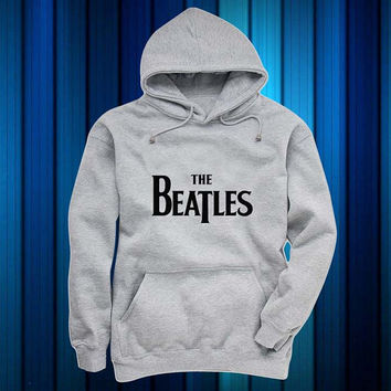 the beatles Hoodies Hoodie Sweatshirt Sweater gray and beauty variant color for Unisex size