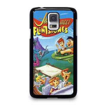 JETSONS MEET FLINTSTONES Samsung Galaxy S5 Case Cover
