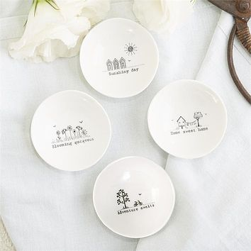 Sweet Sayings Mini Porcelain Bowl
