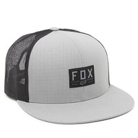 Fox Crouch Trucker Hat - Mens Backpack - Gray - One