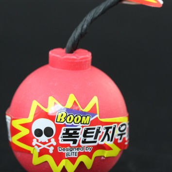 Red Boom! Eraser Container