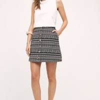 Maeve Fieldnotes Skirt in Black & White Size: