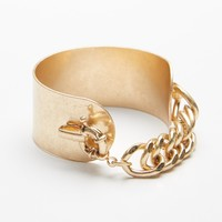 Free People Lock N' Load Metal Cuff