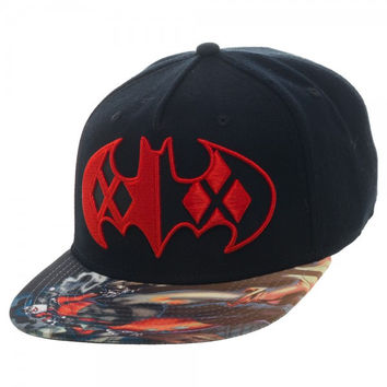 Batman - Harley Quinn Sublimated Bill Snapback