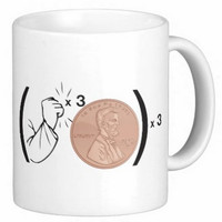 Big Bang Theory Inspired Mug- Knock, Knock, Knock Penny in Graphics