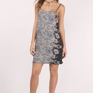 Emilie Printed Shift Dress