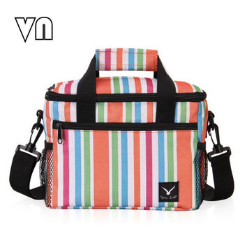 24x16x19CM Cooler Bag Lunch Bag for Food Fruit Seafood Steak Insulation Thermal Bag Men Women Kid Handbags Crossbody Bag Fashion