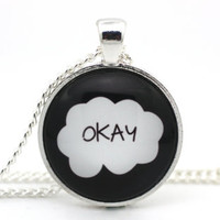 The Fault in Our Stars 'Okay' Necklace