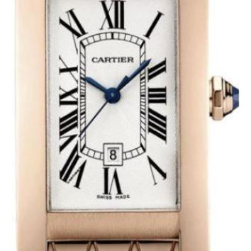 Cartier - Tank Americaine Medium - Pink Gold