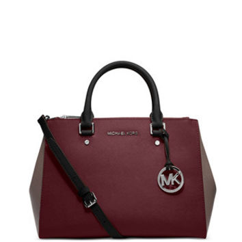 Michael Michael Kors Colorblock Sutton Medium Satchel