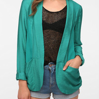 Silence & Noise Relaxed Drapey Blazer