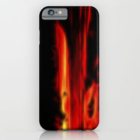 Sunset of the dragon iPhone & iPod Case by Neonflash
