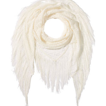 Fringed Wool Scarf - Missoni | WOMEN | US STYLEBOP.COM
