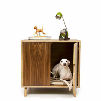 Mid Century Modern Pet Furniture // Dog House // by modernistcat