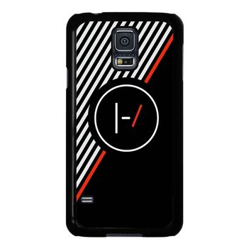 Twenty One Pilots Stripe Poster Samsung Galaxy S5 Case