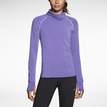 Nike Dri-FIT Sprint Fleece Pullover Women's Running Top - Purple Haze